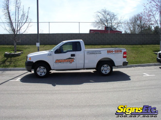 advantix truck wrap by Signs Etc