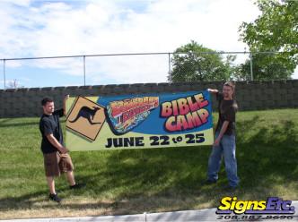 boomerang express color banner