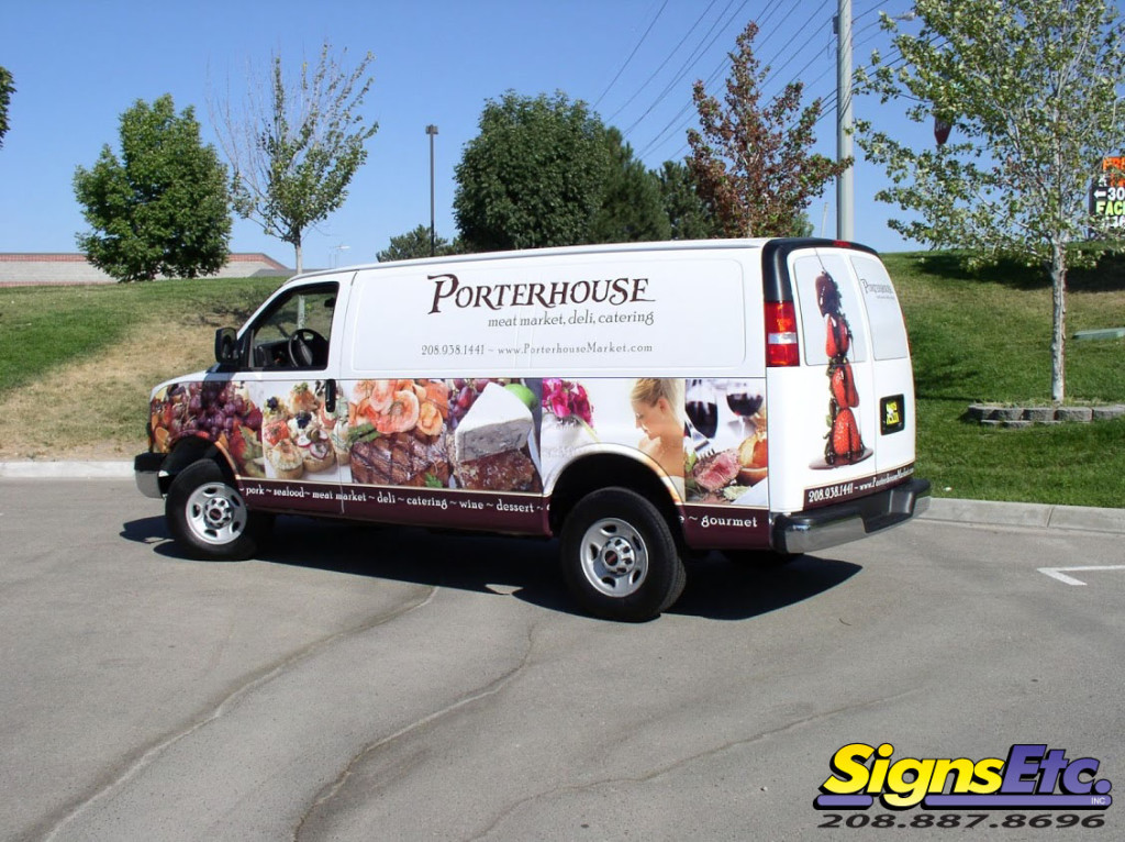 porterhouse van wrap