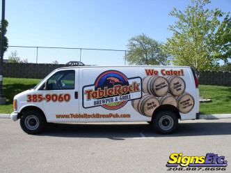 Tablerock Brew Pub And Grill Vehicle Wrap