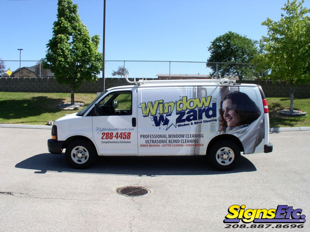 Window Wizard Van Wrap Boise