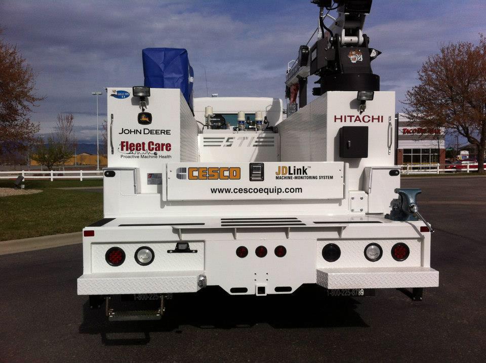 cesco fleet truck lettering