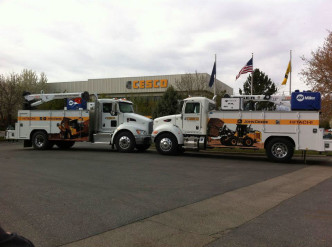 Cesco Service Trucks With Graphics