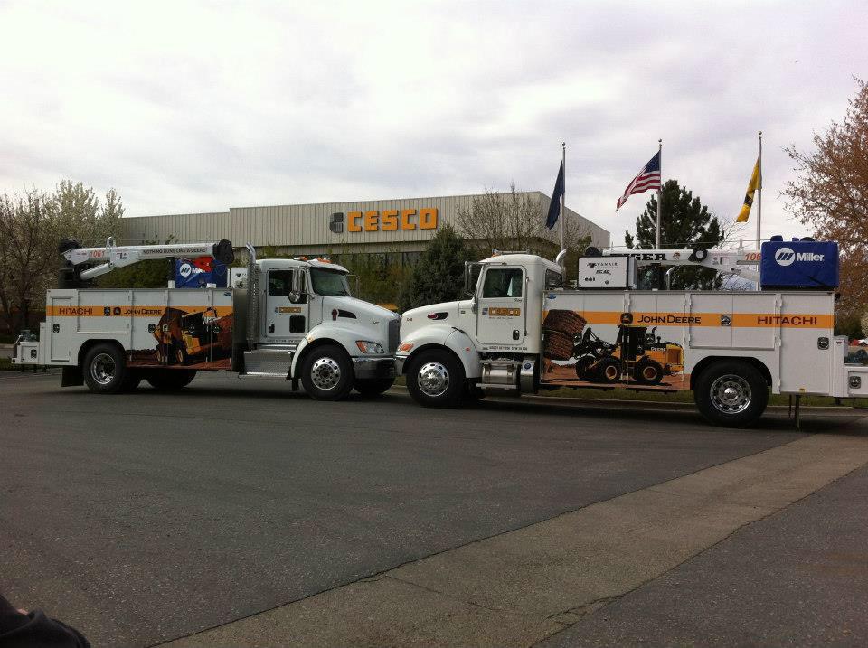 Cesco Service Trucks With Graphics